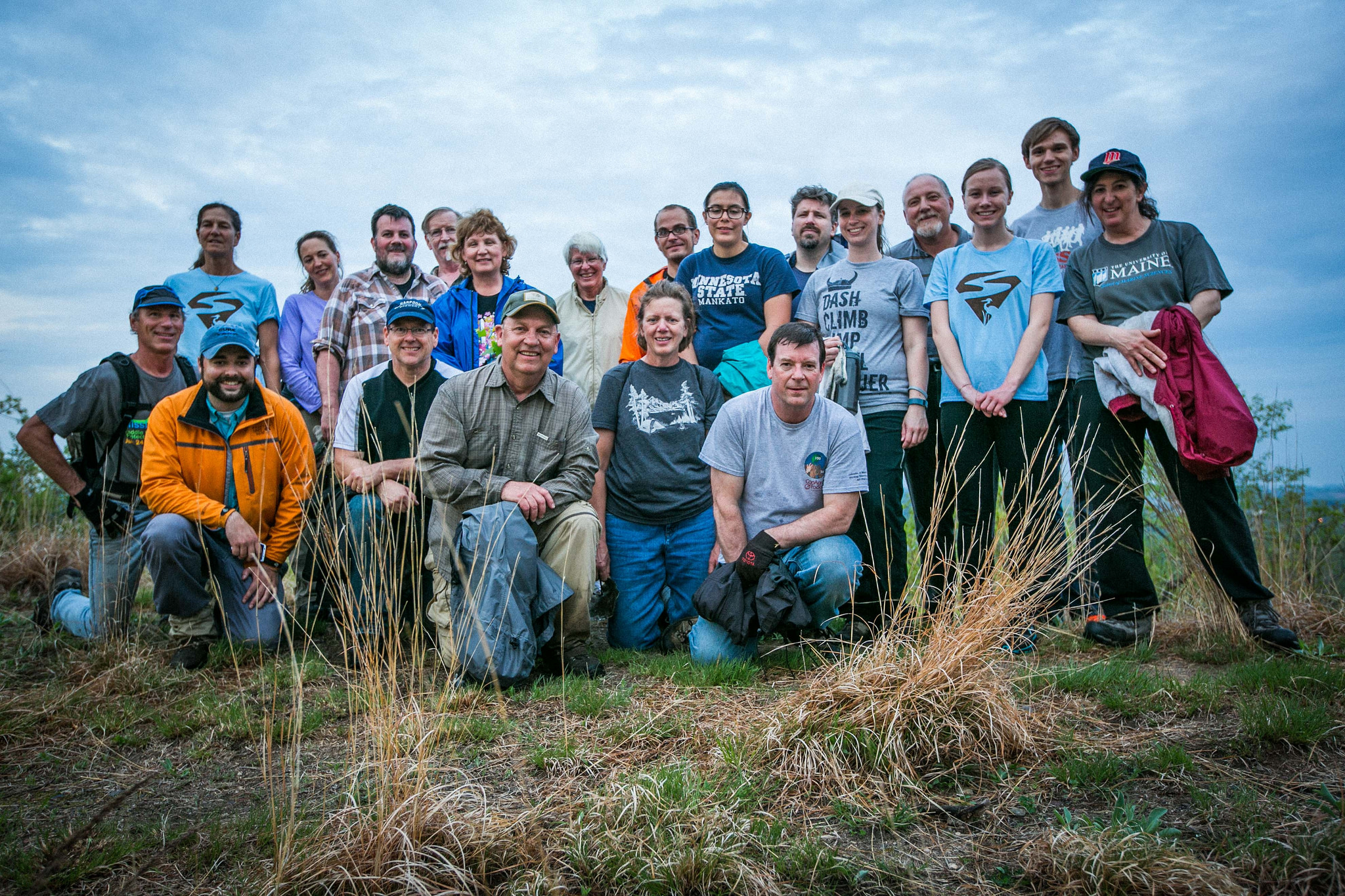 This entire group pledged to remove the invasive species garlic mustard for a total of 160 hours! Part of the FMR Pledge-to-Pull program.