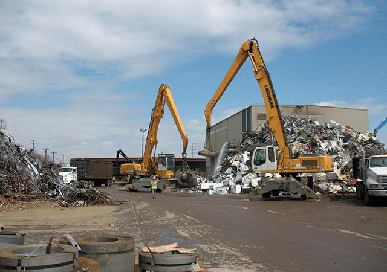 Northern Metals shredding facility
