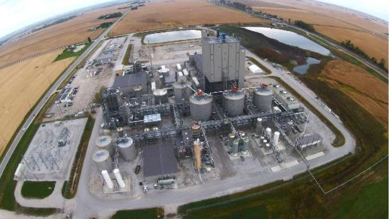 DuPont's 30-million gallon per year cellulosic ethanol plant in Nevada, Iowa