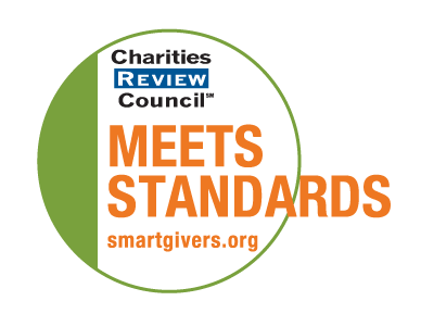 Charities Review Council Meeting Standards Logo