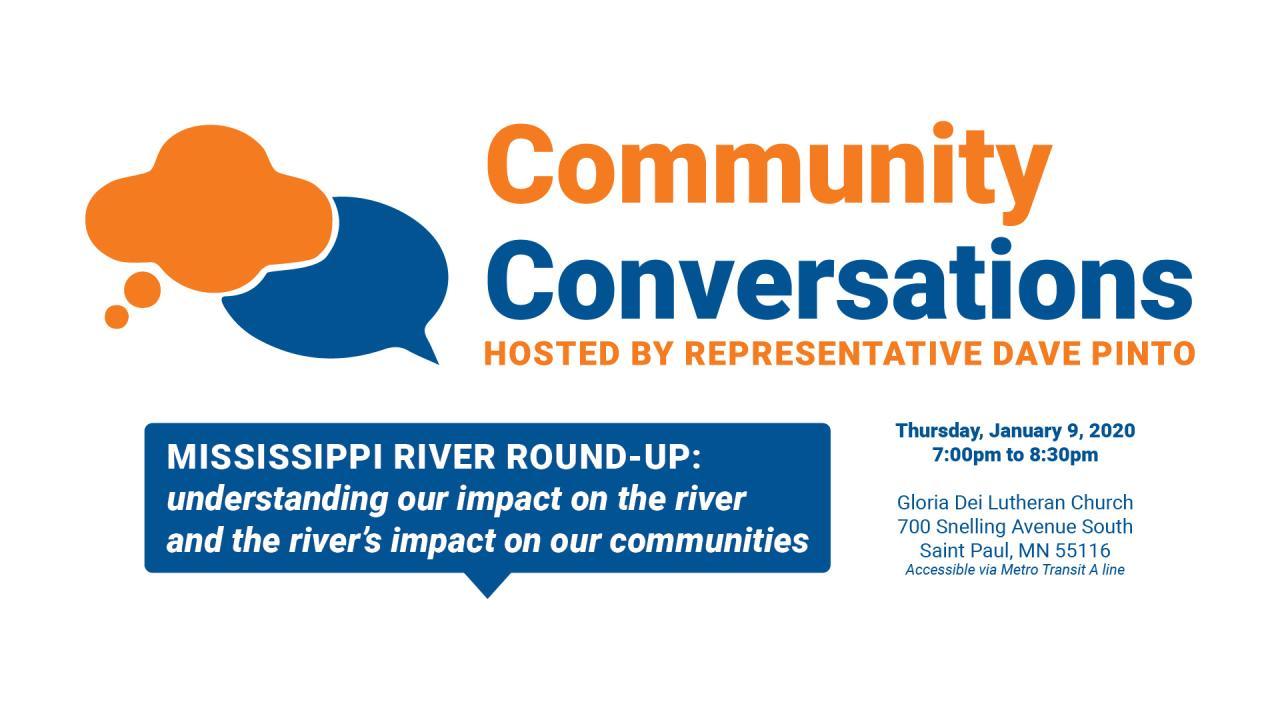 Community conversation graphic