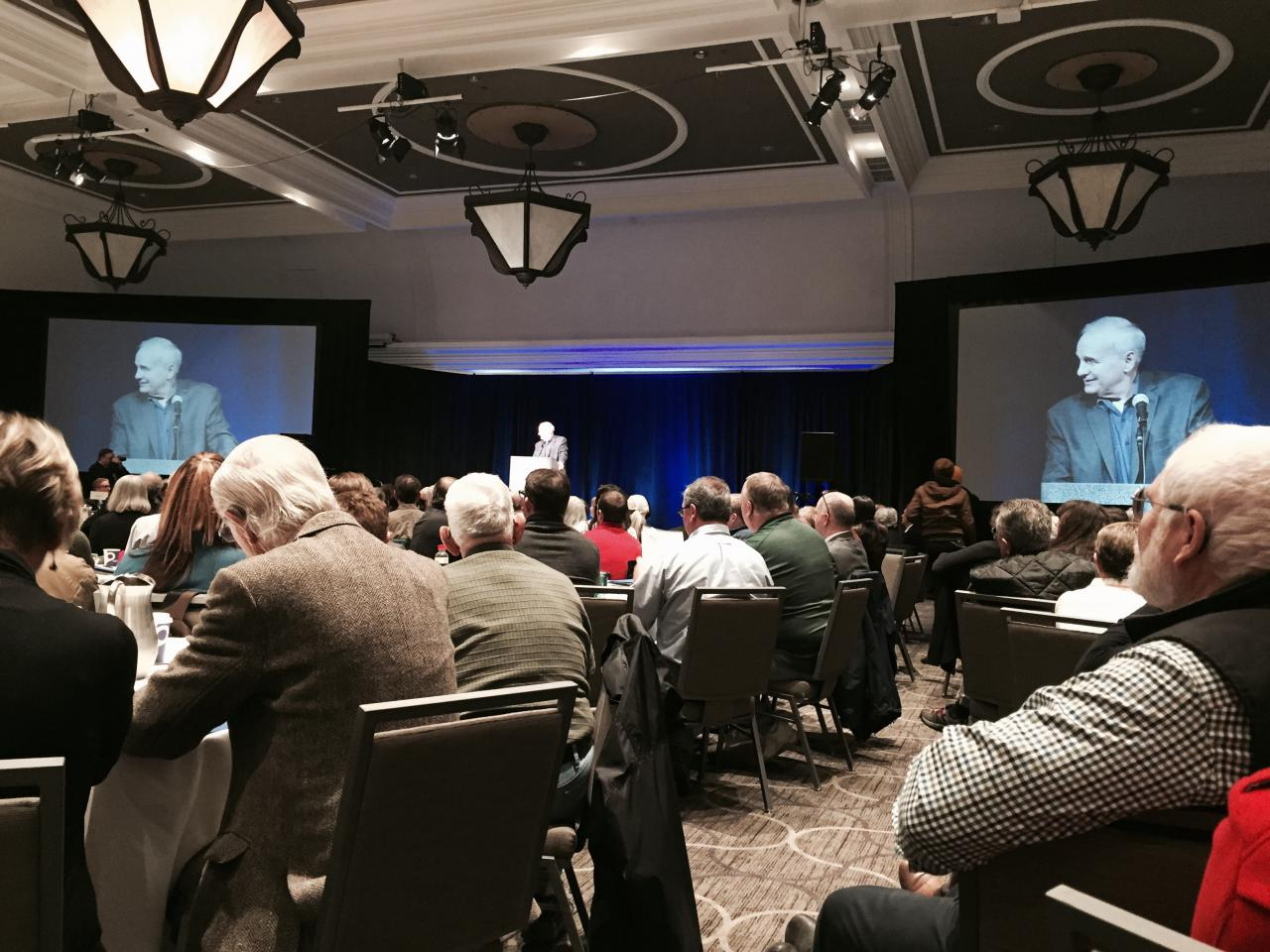 Governor Dayton opening the first ever MN Water Summit