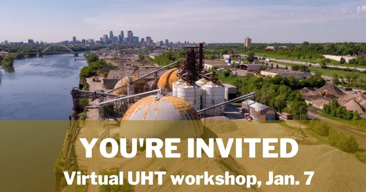 Join us for a virtual UHT workshop!