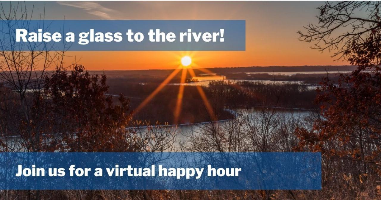 Raise a glass to the river!