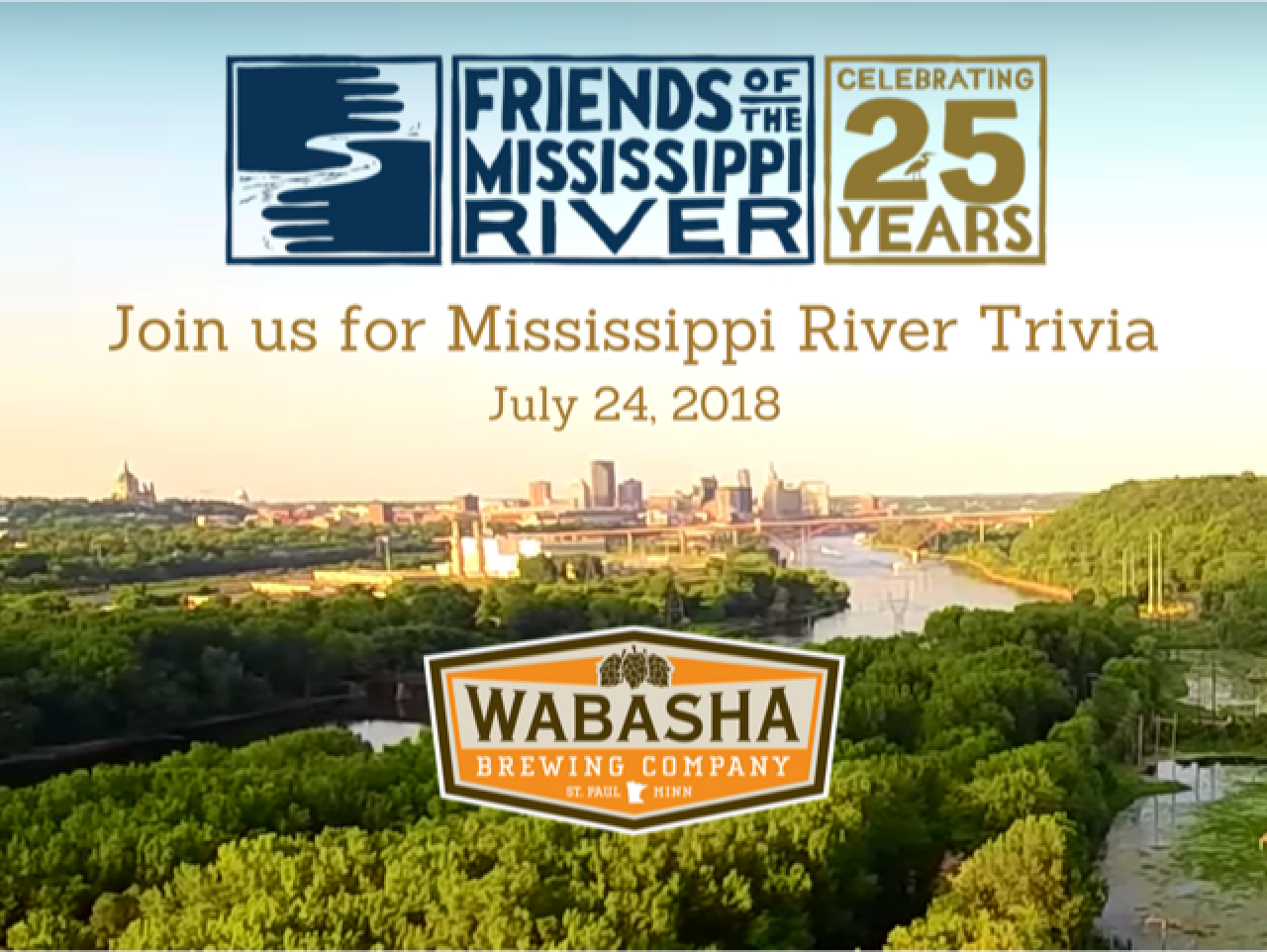 Join us for Mississippi River Trivia at Wabasha Brewing Company Taproom