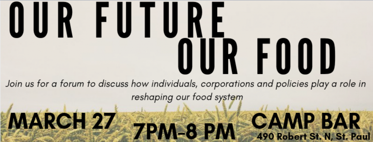 our future our food banner