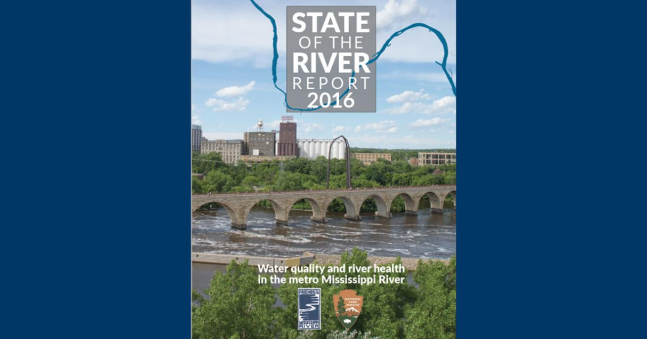 State of the River Report 2016 cover