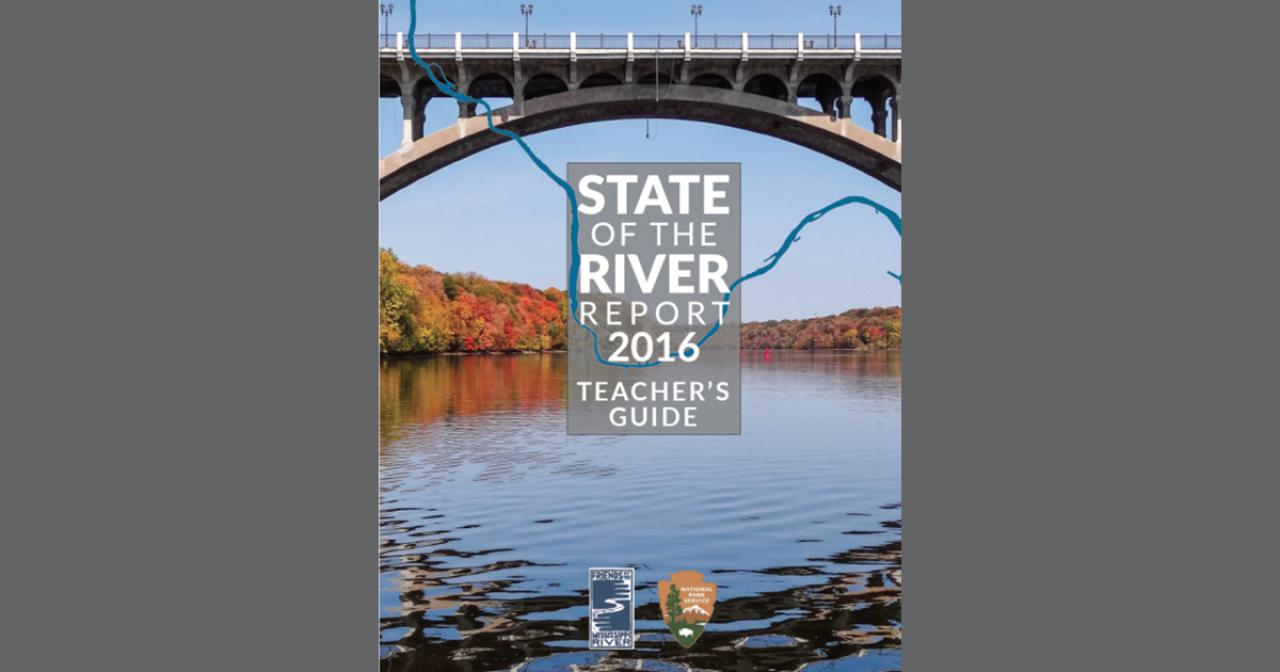 State of the River Report 2016 Teacher's Guide cover