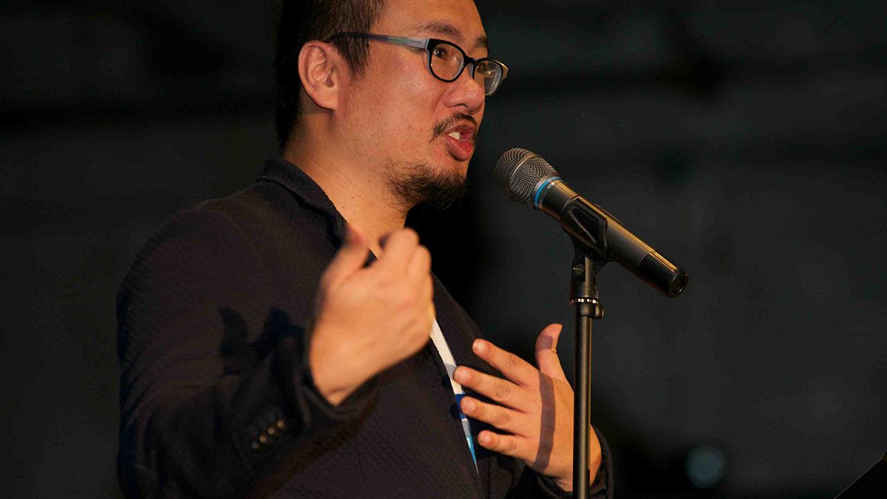 Bao Phi performs a poem