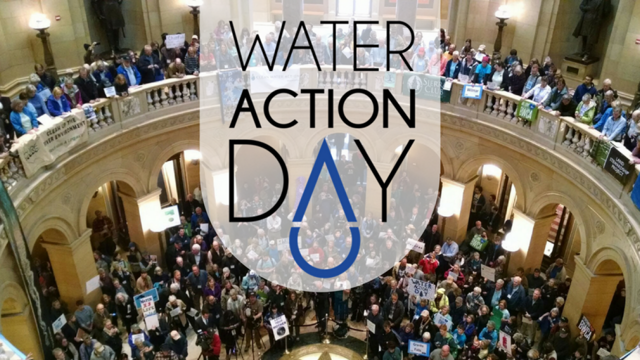 Water Action Day logo